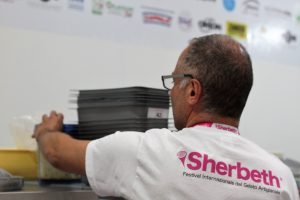 Antonio De Vecchi from Gelato Village at Sherbeth